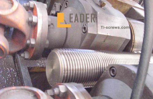 Titanium thread