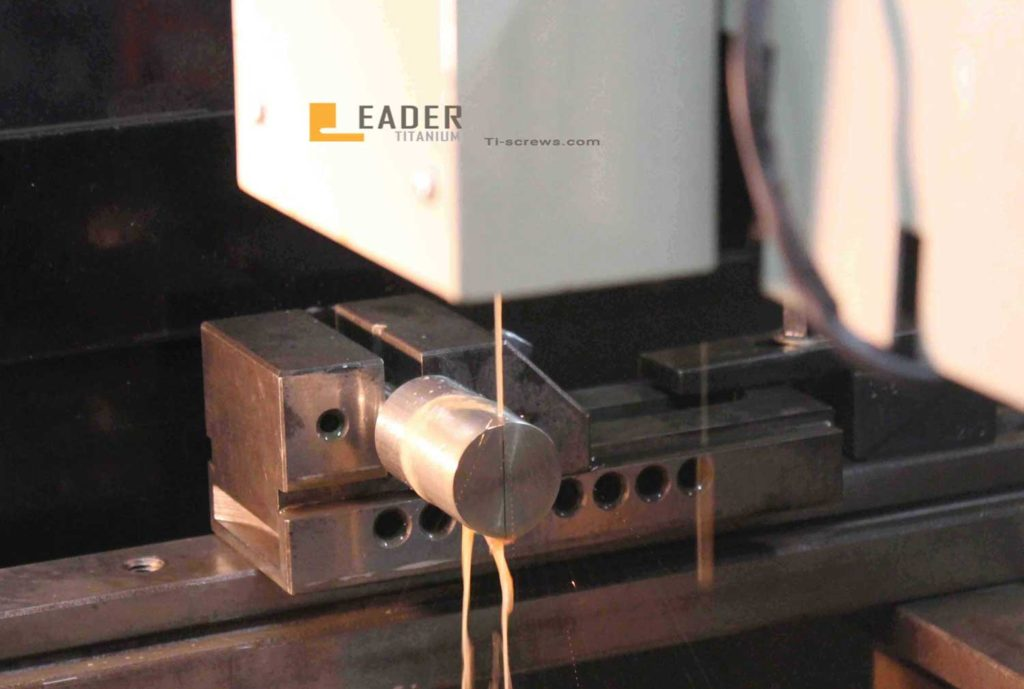 Wire-cutting, the correct name is wire-electrode cutting. And the full name is Wire Electrical Discharge Machining, which is called EDM.