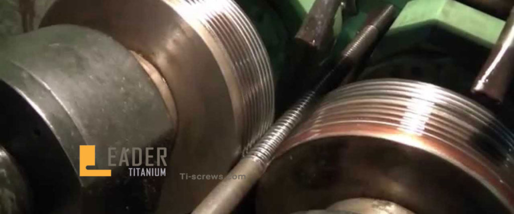 Rolling thread and Cutting thread