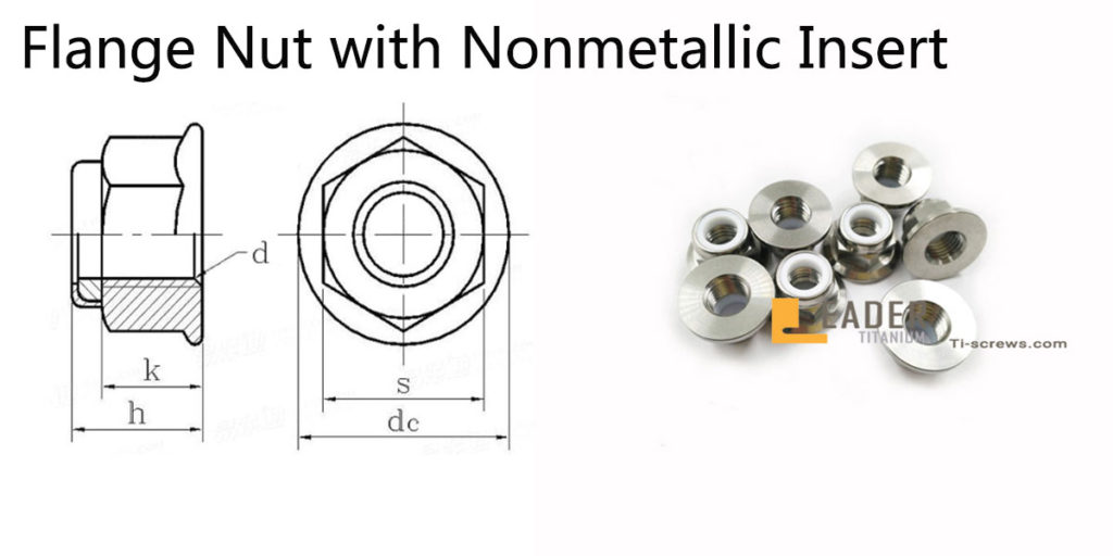 Flange Nut with Nonmetallic Insert